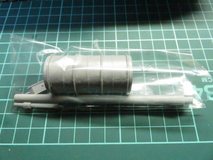 超重戦車マウス 後で整形するパーツ