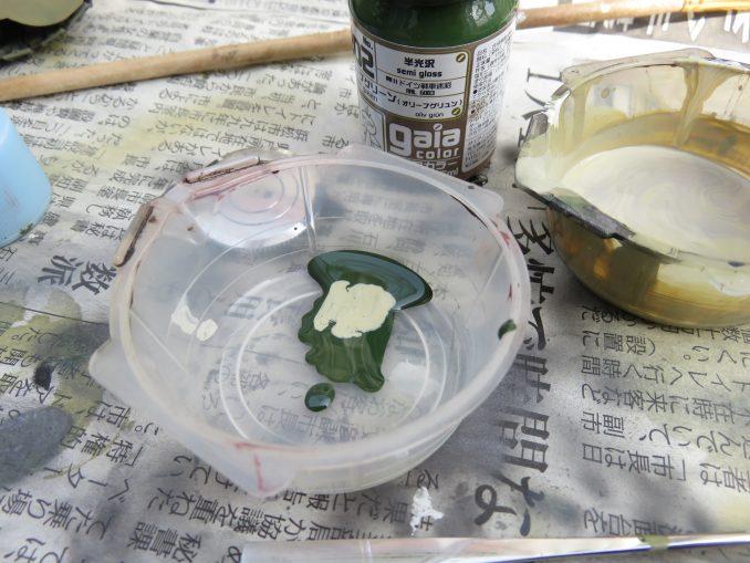 超重戦車マウス オリーブグリーン(ダークグリーン)塗装