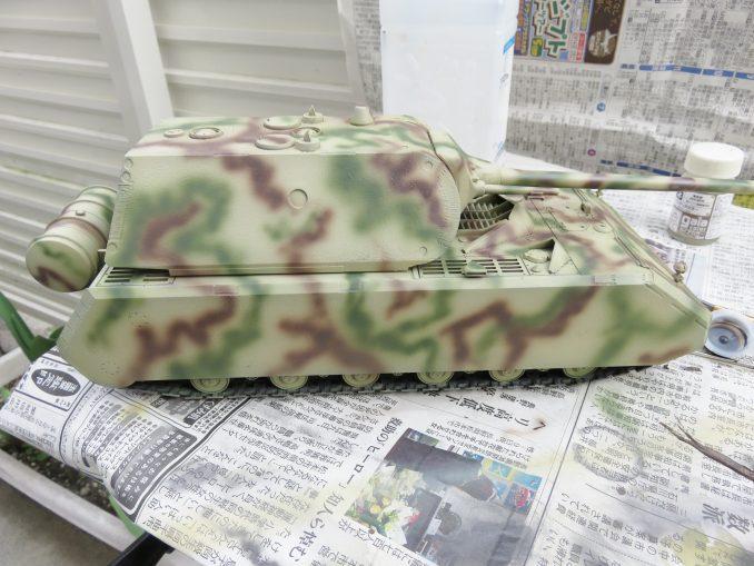 超重戦車マウス ロートブラウン(レッドブラウン)塗装2