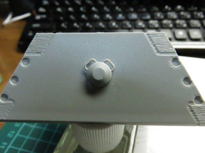 超重戦車マウス 薬莢搬入口