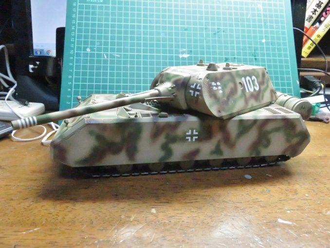 超重戦車マウス デカール貼付け後2