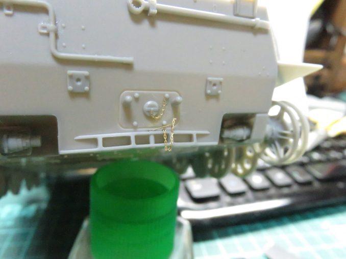 フラックワーゲン リアパネルの牽引装置2