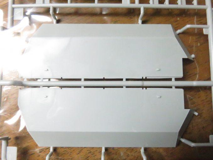 フラックワーゲン 側面装甲板