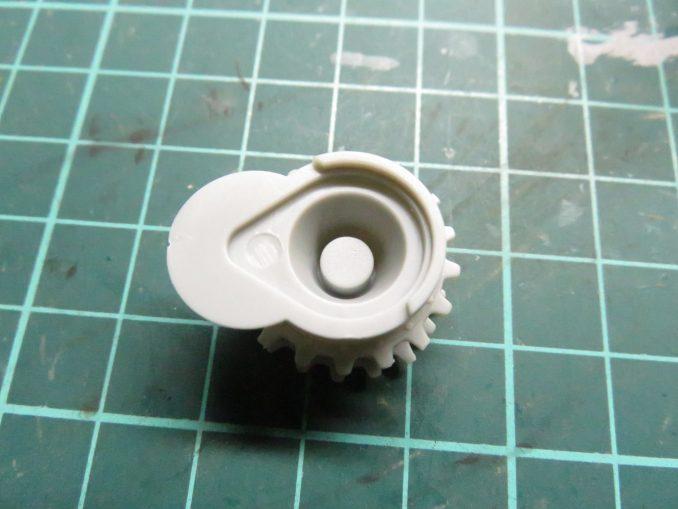フラックワーゲン 起動輪の組み立て4