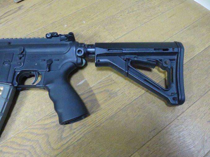 ERGOグリップ M4への装着例2