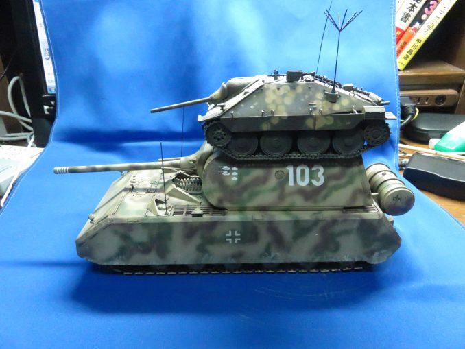 超重戦車マウスとヘッツァー