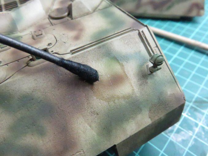 超重戦車マウス ウォッシング 拭き取り