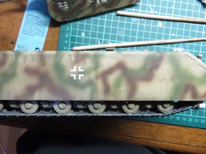 超重戦車マウス ウォッシング 拭き取り2