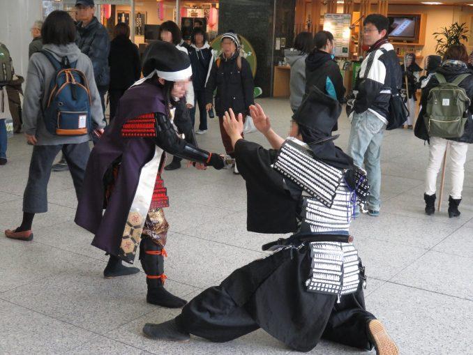 静岡まつり 大御所花見行3