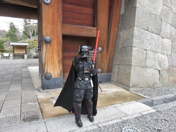 静岡まつり 駿府城公園のダースベイダー