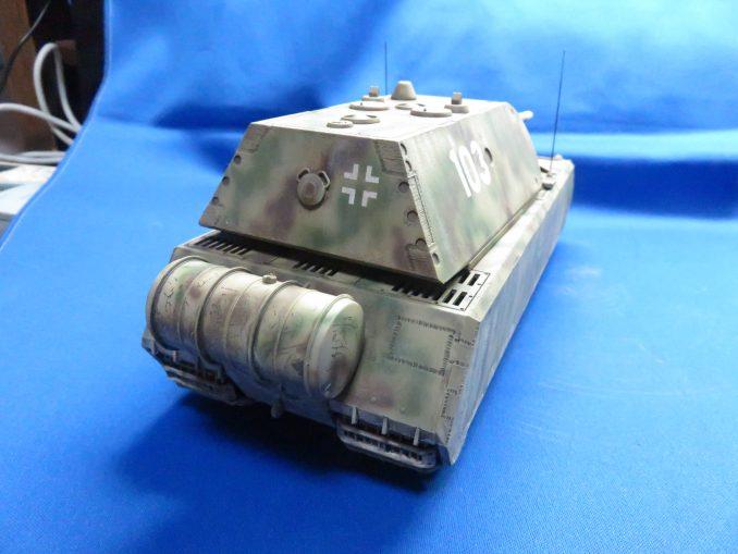 超重戦車マウス 右斜め後ろ