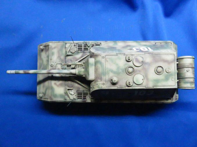 超重戦車マウス 上面