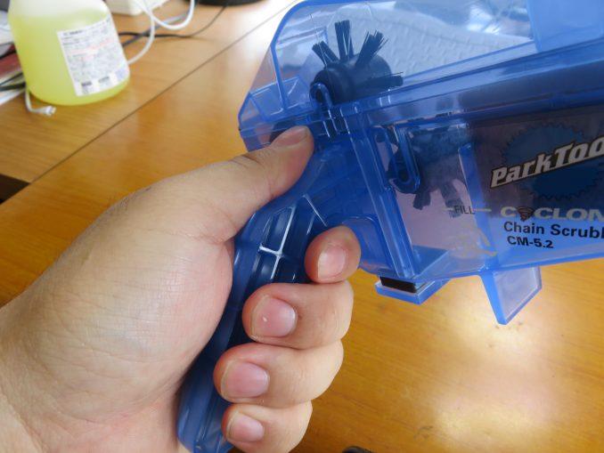 Park Tool CM5.2 サイクロン 持ち手