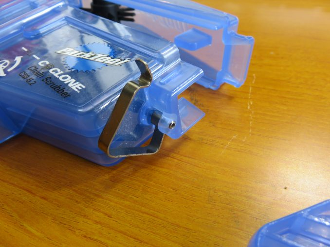 Park Tool CM5.2 サイクロン チェーン出入り口の板バネ