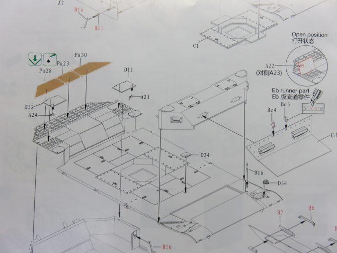 フラックワーゲン 説明書 車体の組み立て