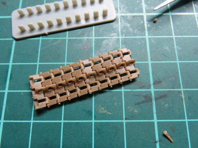フラックワーゲン 可動式履帯 10枚完成