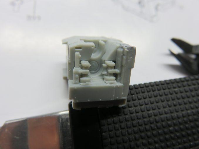 フラックワーゲン Flak41 砲尾の組み立て10