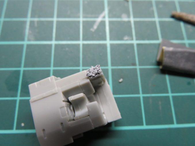 フラックワーゲン Flak41 砲尾の組み立て5