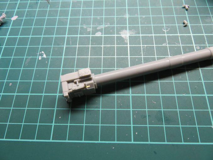 フラックワーゲン Flak41 砲身の組み立て3