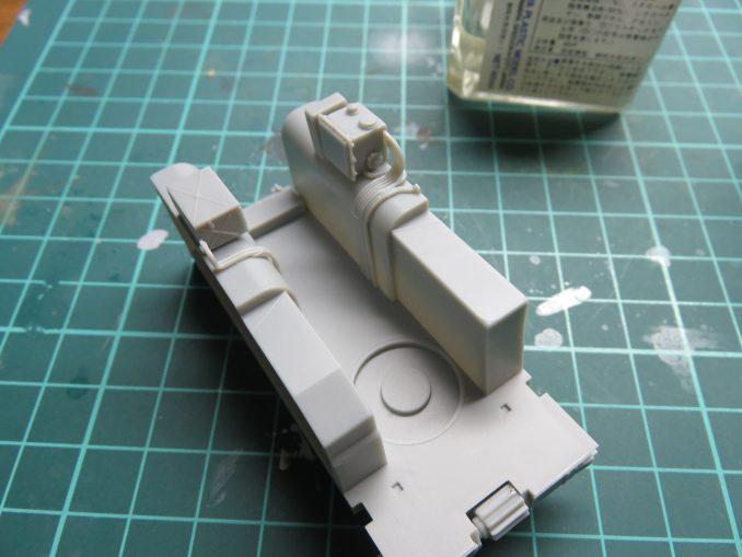 フラックワーゲン Flak41砲架下部の組み立て16