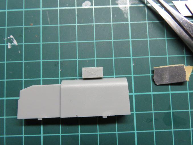 フラックワーゲン Flak41砲架下部の組み立て4