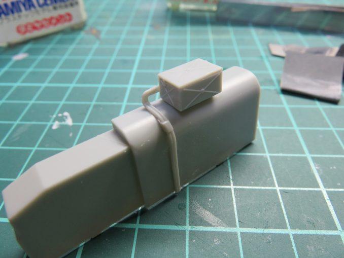 フラックワーゲン Flak41砲架下部の組み立て6