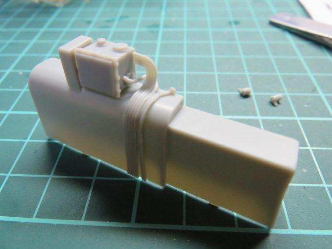 フラックワーゲン Flak41砲架下部の組み立て7