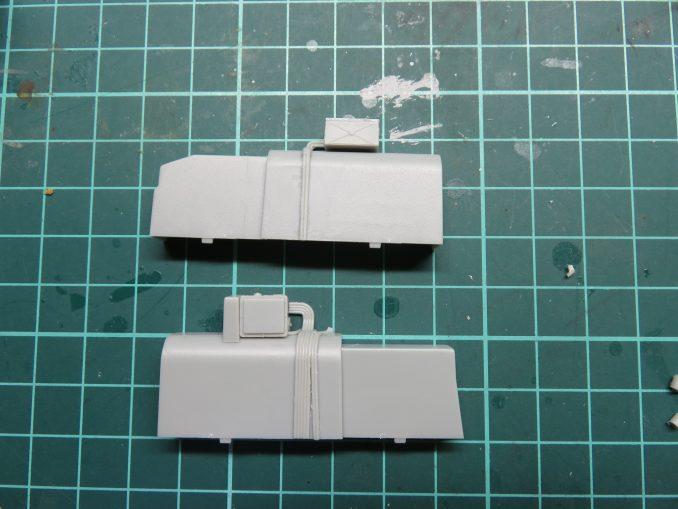 フラックワーゲン Flak41砲架下部の組み立て8