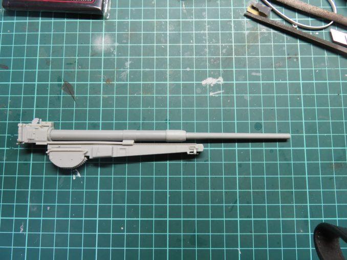 フラックワーゲン Flak41 駐退機のギミック2