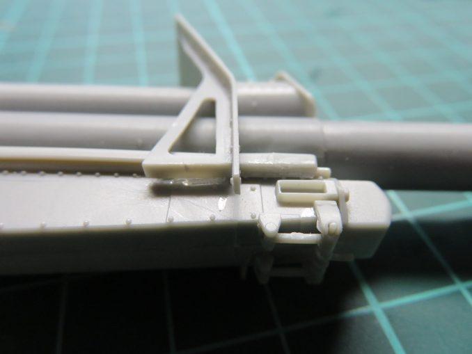 フラックワーゲン Flak41 砲身防盾の取り付け2