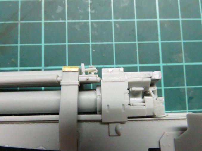 フラックワーゲン Flak41 復座機のピストンロッド2