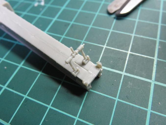 フラックワーゲン Flak41 駐退機の組み立て6