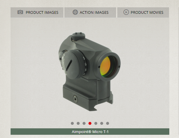 Aimpoint ® Micro T-1