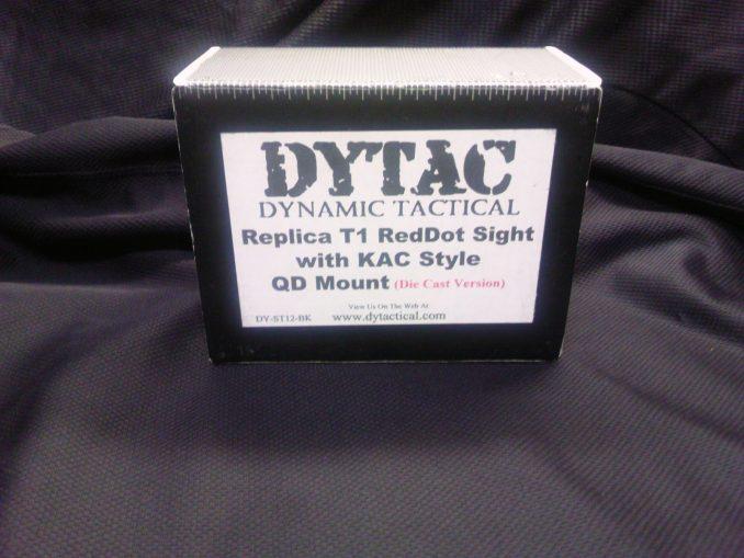 DYTAC T-1ドットサイト 箱