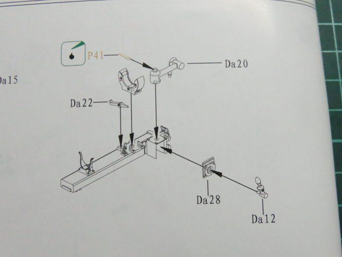 フラックワーゲン Flak41の信管設定装置の組み立て19