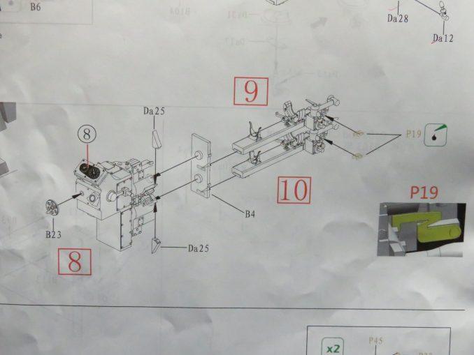 フラックワーゲン Flak41の信管設定装置の組み立て21