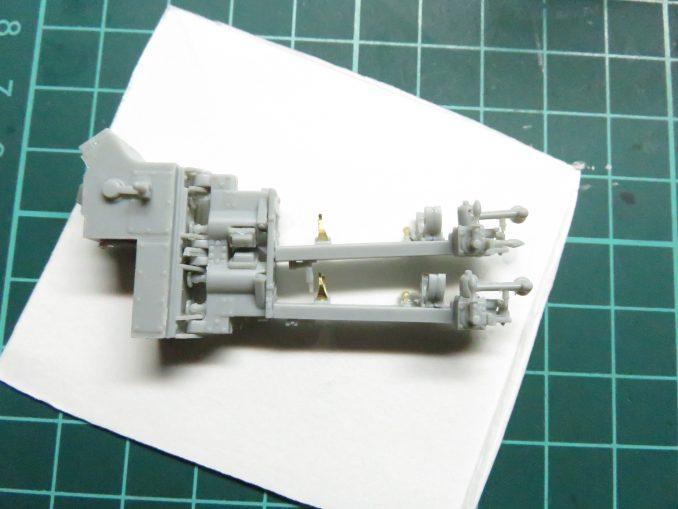 フラックワーゲン Flak41の信管設定装置の組み立て22
