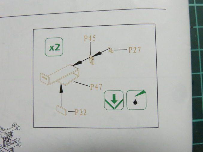 フラックワーゲン Flak41の信管設定装置の組み立て24