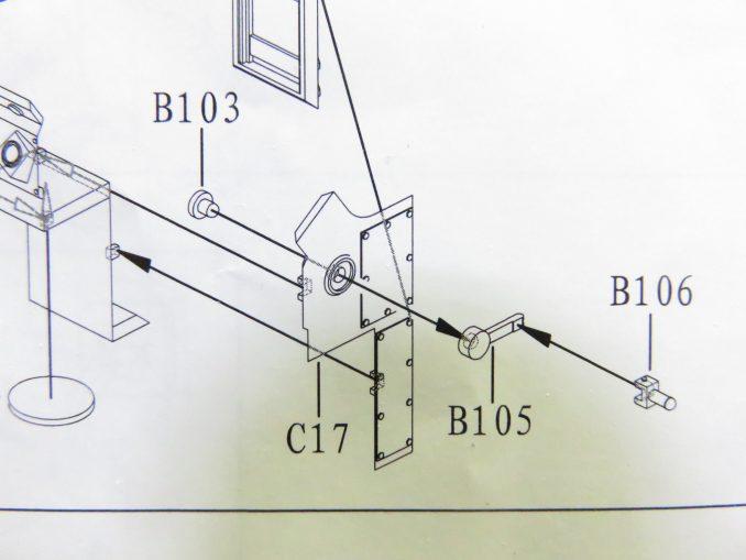 フラックワーゲン Flak41の信管設定装置の組み立て3