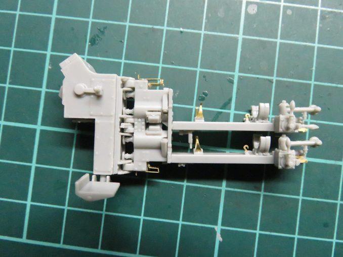 フラックワーゲン Flak41の信管設定装置の完成