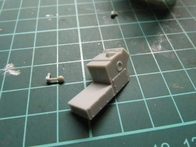 フラックワーゲン Flak41の信管設定装置の組み立て4