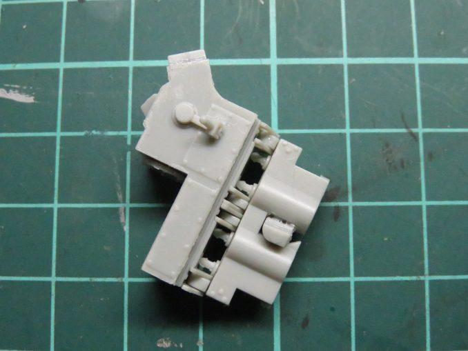 フラックワーゲン Flak41の信管設定装置の組み立て9