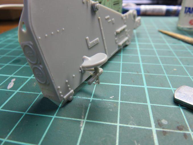 フラックワーゲン Flak41 砲架の座席2