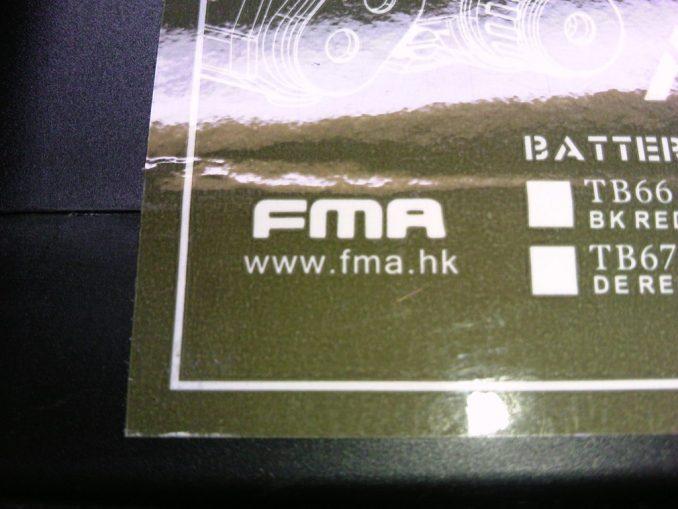 FMA PEQ-15 パッケージのメーカー名