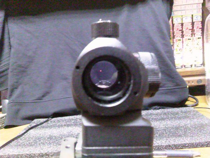 DYTAC T-1 レッドドット 光量最小