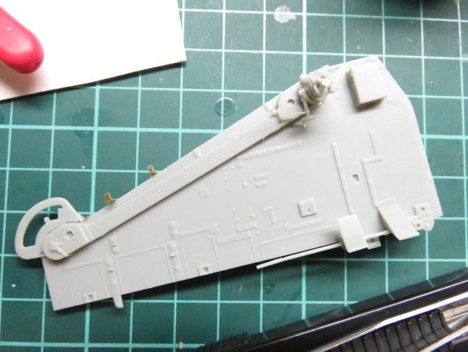 Flak41 砲架右側 射撃管制装置の組み立て11