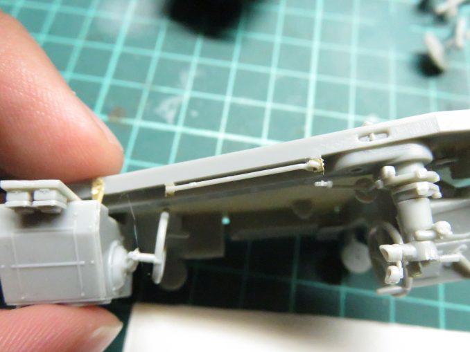 Flak41 砲架右側 射撃管制装置の組み立て20