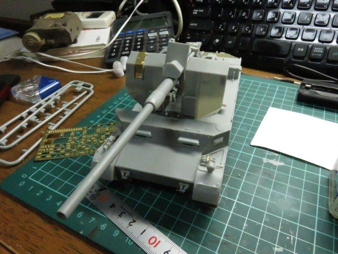 フラックワーゲン Flak41防盾の組み立て10