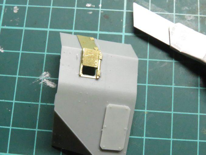 フラックワーゲン Flak41防盾の組み立て6