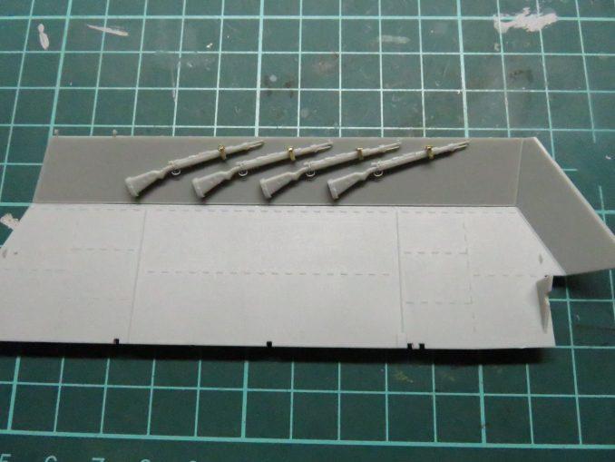 フラックワーゲン 側面装甲板2